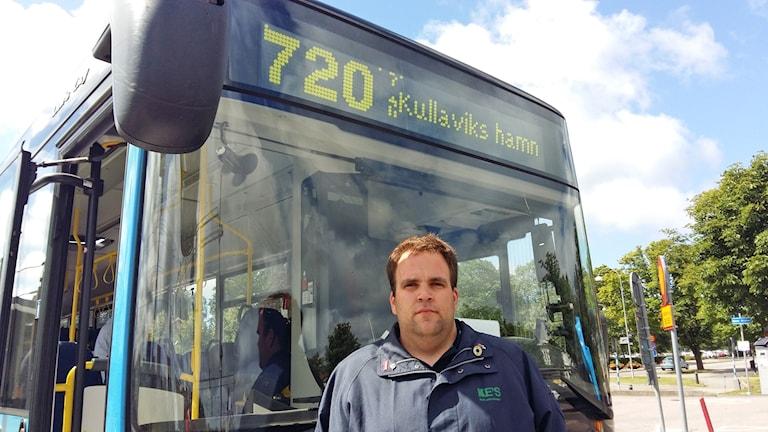 busschauffören Martin Andreasson