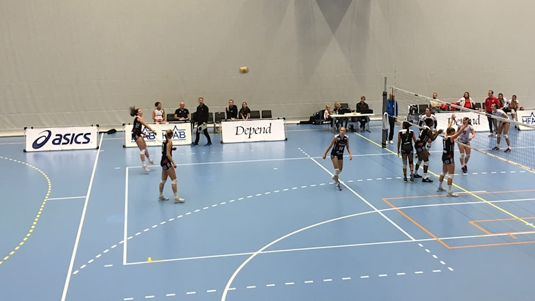 Hylte/Halmstads damer besegrade Svedala i stor stil, och vann i tre raka set.