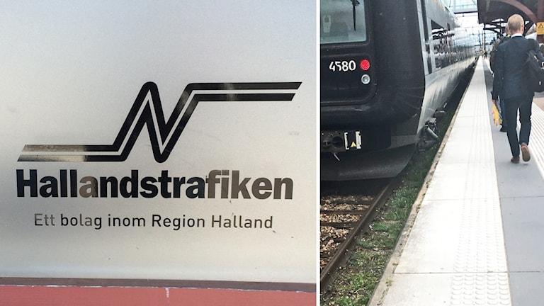 hallandstrafiken + tåg, splitbild