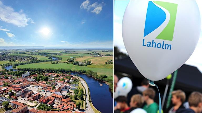 Familjeband mellan Comotion och Laholms kommun.