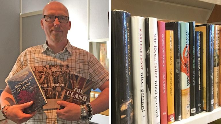 Jörgen Holst, bibliotekarie från Söndrum ger boktips