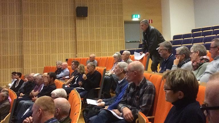 Många hade funderingar kring avvecklingen av Rinhals reaktor 1 och 2.
