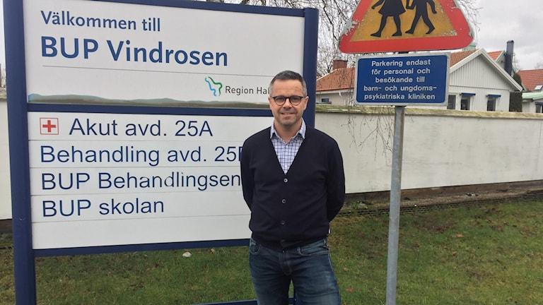 Stefan Lemon, verksamhetschef för BUP i Halland ser positivt på tillskottet i årets budget.