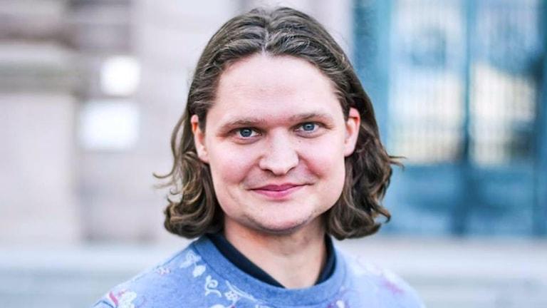 Andreas Feymark, Hallandsordförande för SD.