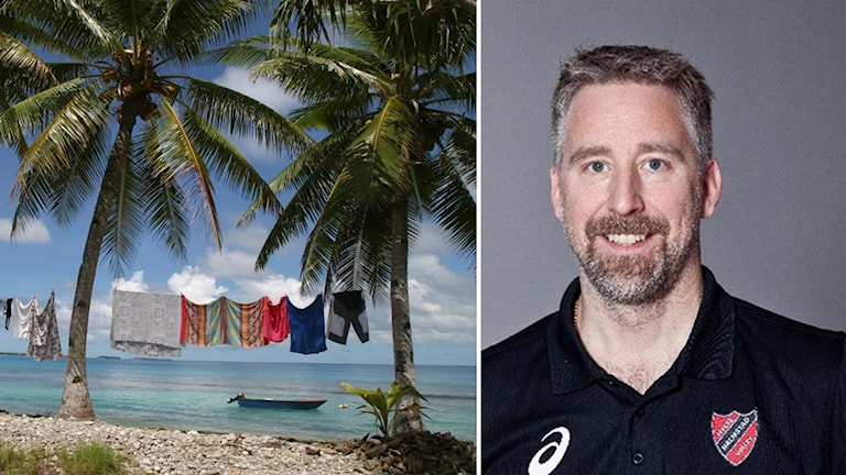 Tony Westman leder Tuvalu.