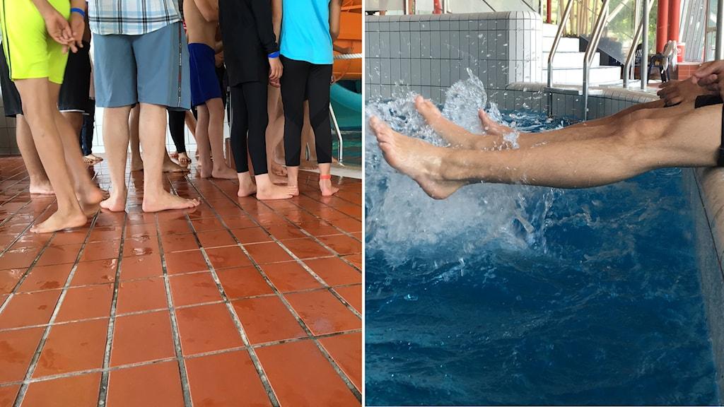 252 barn och ungdomar får lära sig simma på Halmstad Arenas intensivkurser.