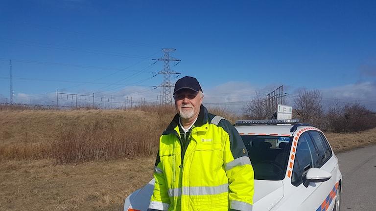 Stefan Larsen, enhetschef på hamn och gatuförvaltningen i Varberg