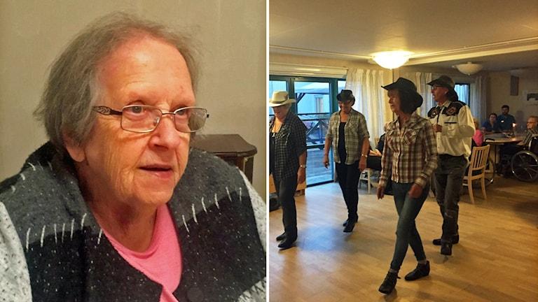 Irene Elmqvist trivs bra på pubkvällarna men önskar att hon kunde dansa själv.