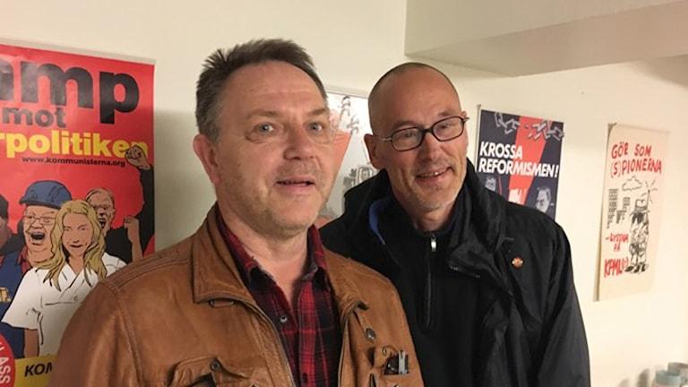 Bengt Johansson och Ingemar Ericsson, Kommunistiska partiet