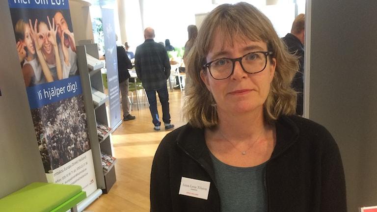 Anna-Lena Nilsson, länsarkivarie i Halland.