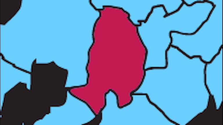 Karta P4 Örebro