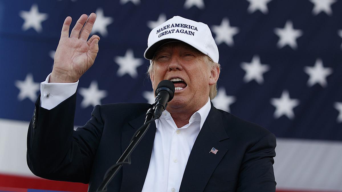 Donald Trump i keps