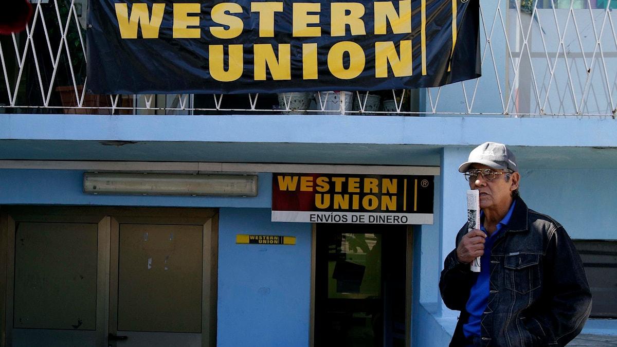 Western Union kontor i Kuba. Foto: Franklin Reyes/TT.