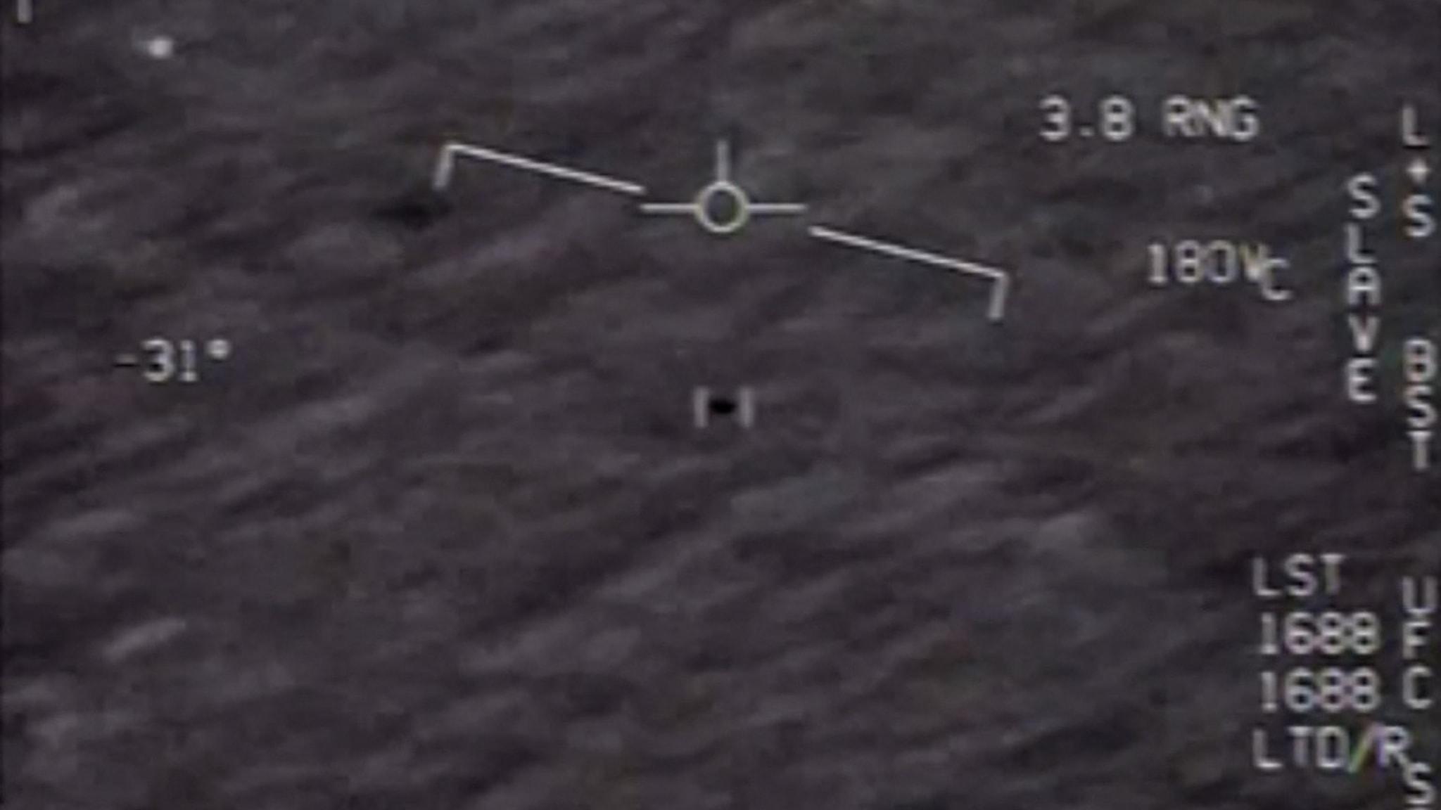 Foto av okänt flygande föremål