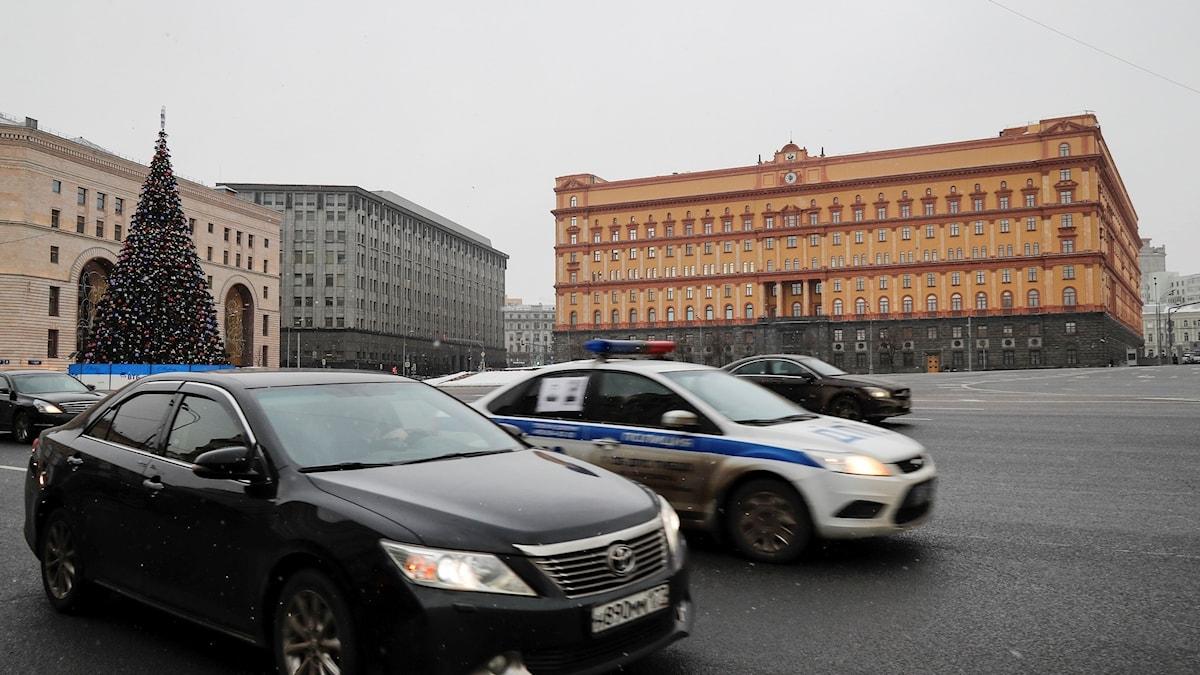 Den ryska säkerhetstjänsten FSB:s kontor i Moskva.