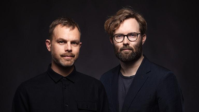 Konflikt Ivar Ekman Robin Olin. Foto: Mattias Ahlm/Sveriges Radio