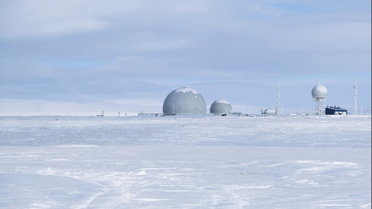 Rysk militärbas i Arktis