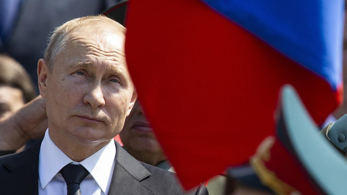 Vladimir Putin minnesceremoni andra världskriget