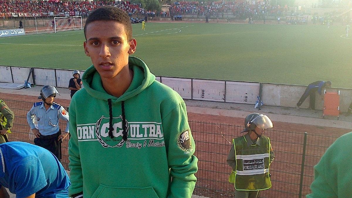 16-årige Oualid i Marocko drömmer om Europa.