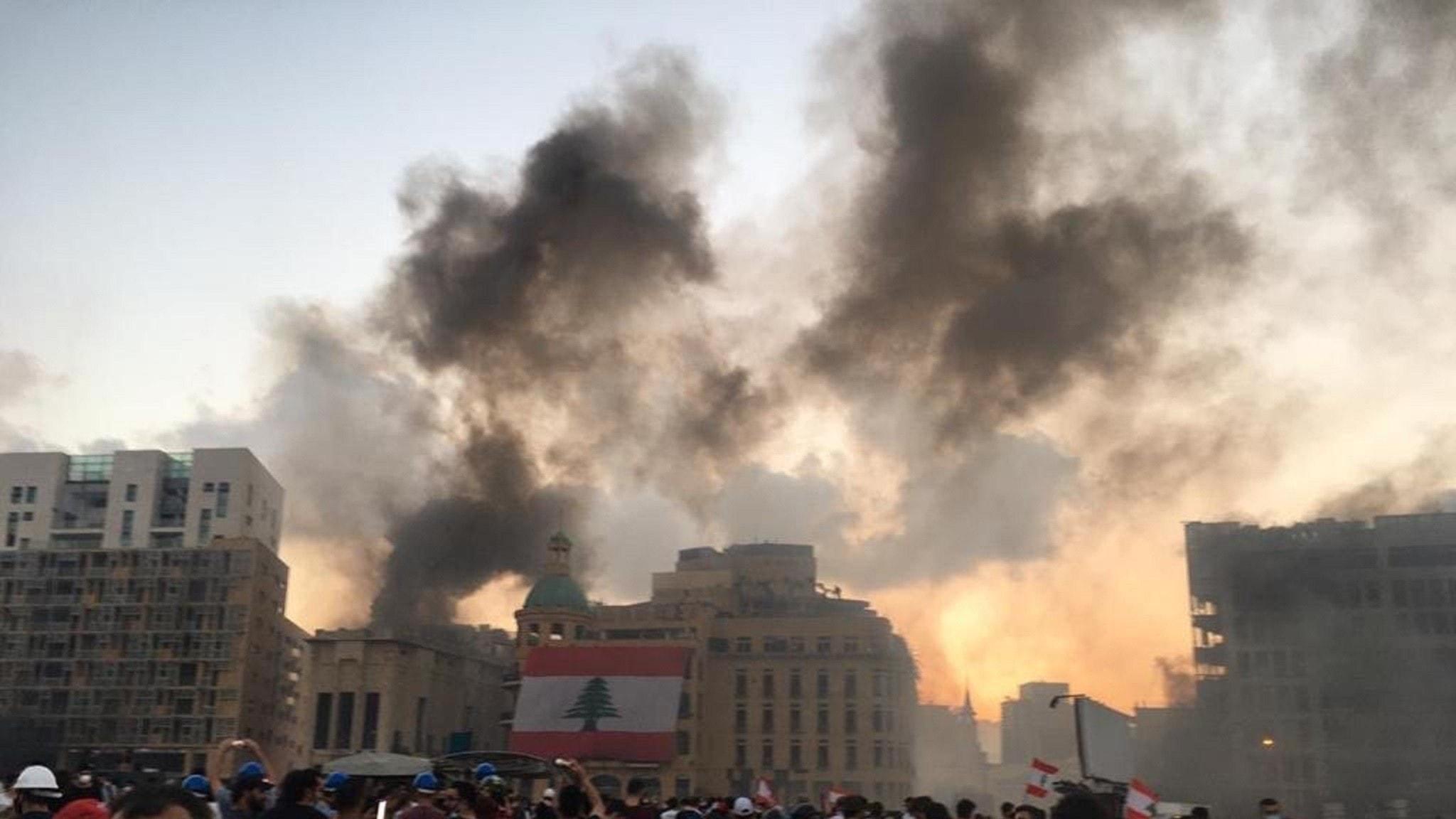 Libanon på väg mot helvetet