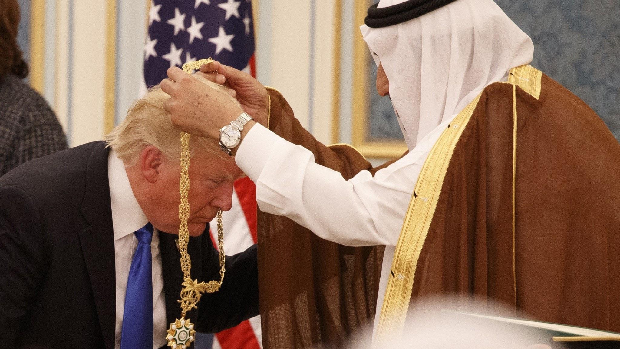 trump i saudi