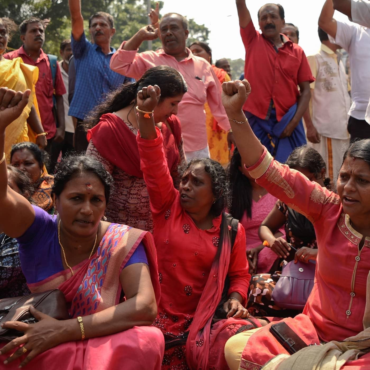 Tempelstriden och Indiens kvinnor