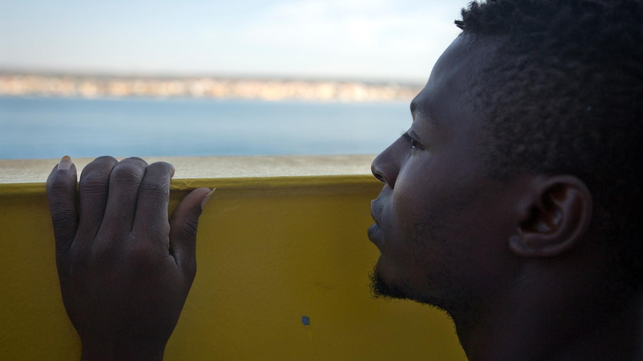 Afrikas unga drömmer om Europa