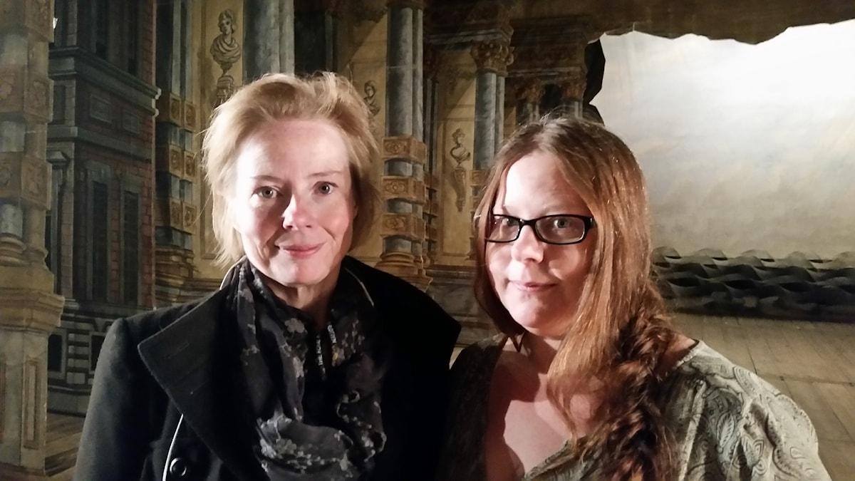 Vetenskapsradion Forum går på spökjakt med Åsa Tillman från Drottningholms slottsteater och folkloristen Tora Wall.