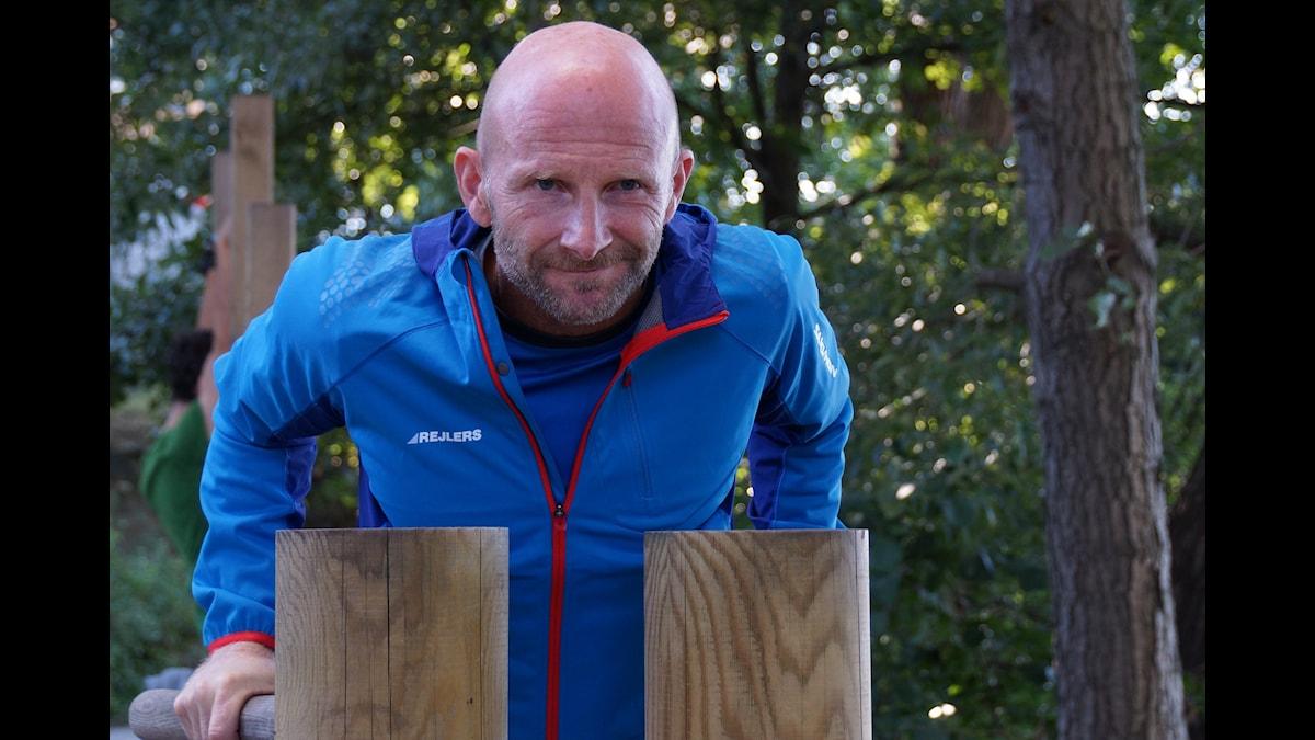 Peter Rejler tränar minst två timmar varje dag. (Foto: Urban Björstadius)