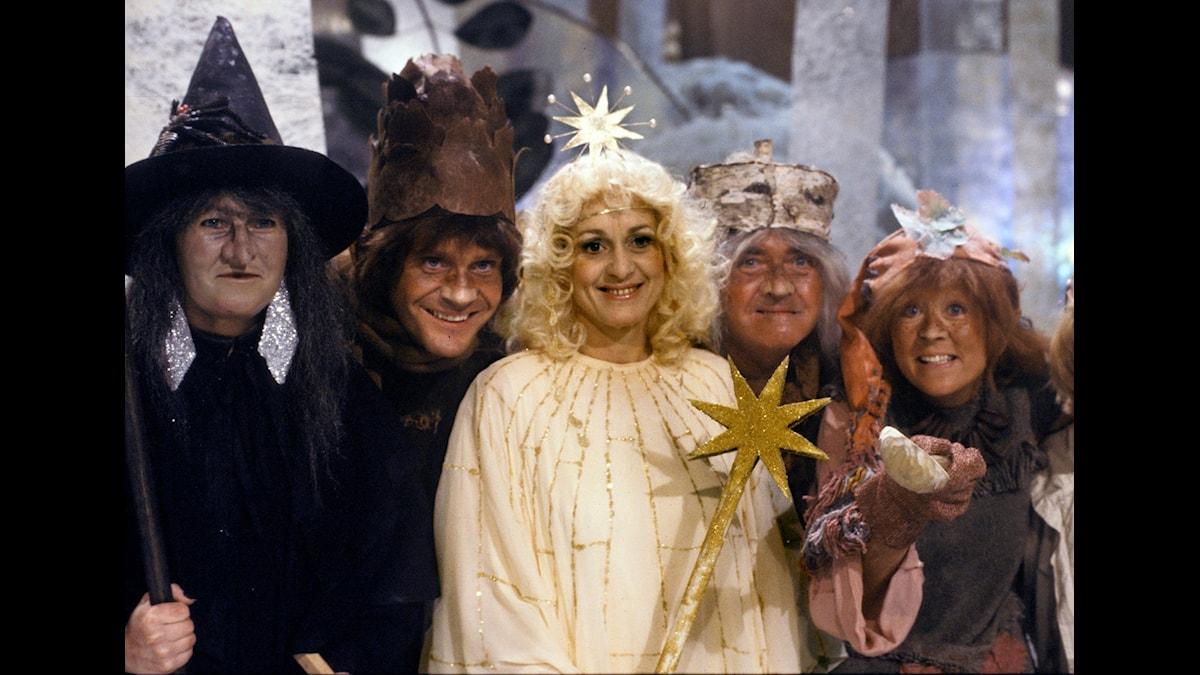 Julkalendern Trolltider från 1979 kritiserades för att vara hednisk och okristlig. (Foto: Jan Collsiöö / TT)