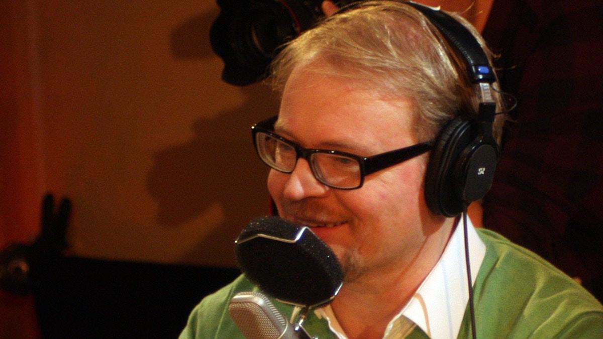 Fredrik Lindström. Foto: Benjamin Thorén/Sveriges Radio.