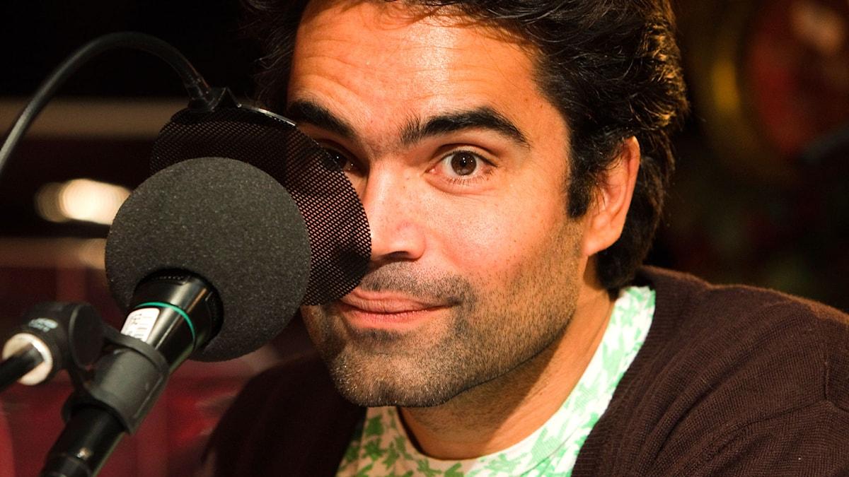 David Batra. Foto: Mattias Ahlm /Sveriges Radio