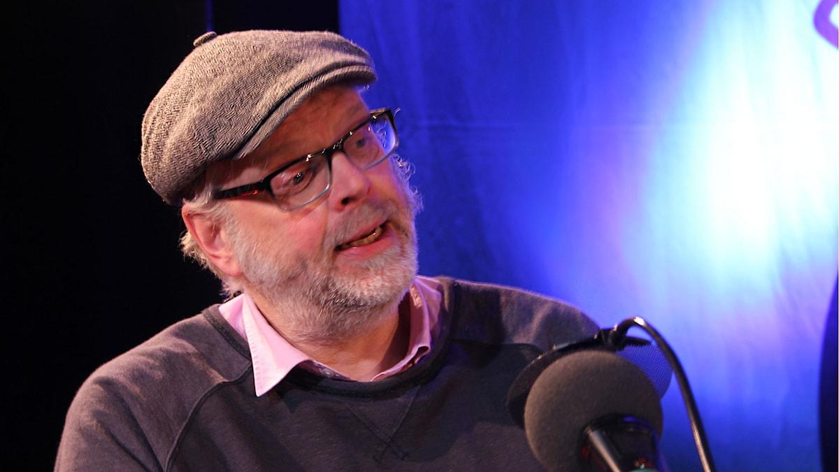 Hans Rosenfeldt i På minuten 2015. Foto: Stina Ericsson /Sveriges Radio