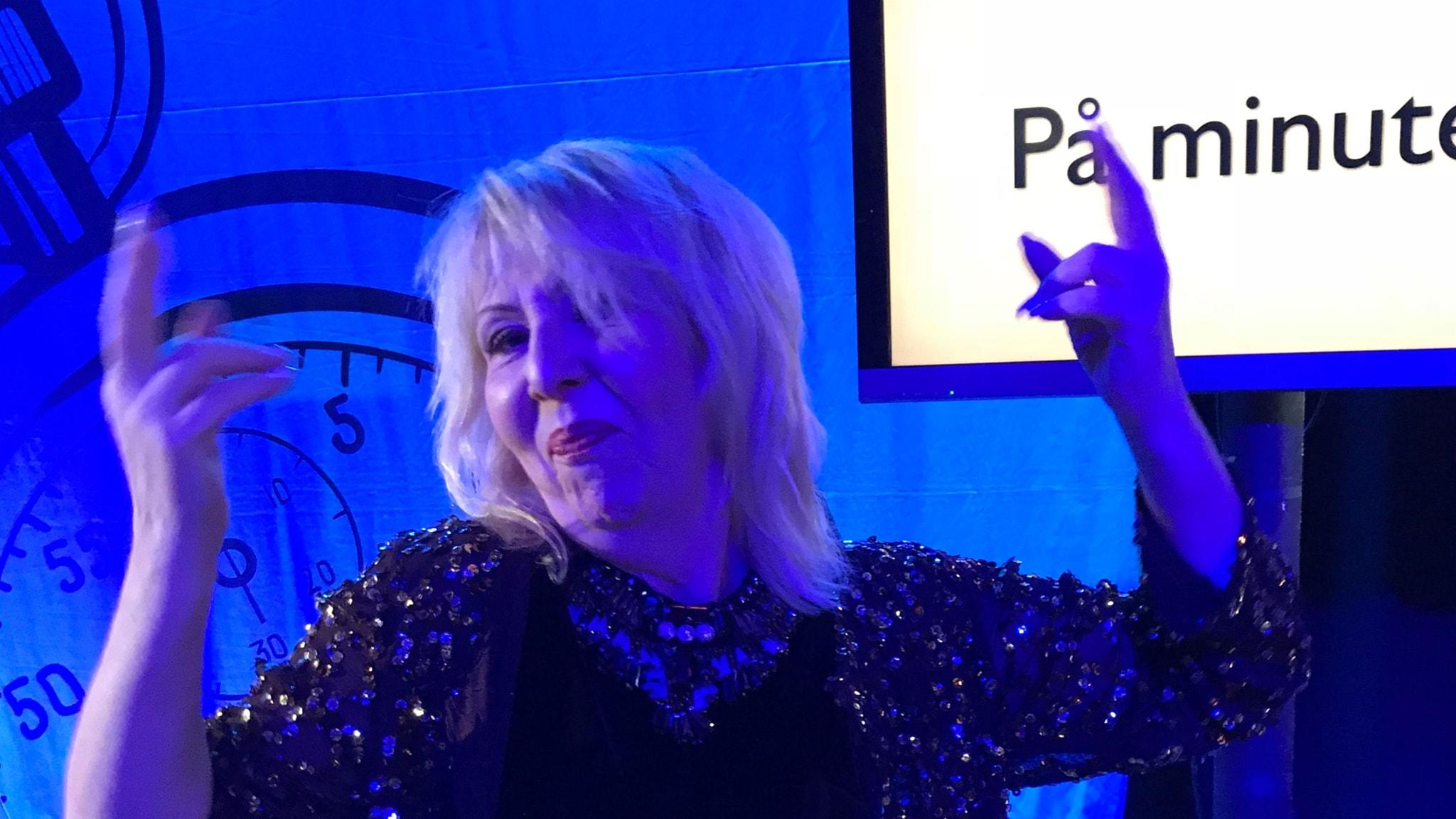 Pia Johansson anlitar en färgblind inredare