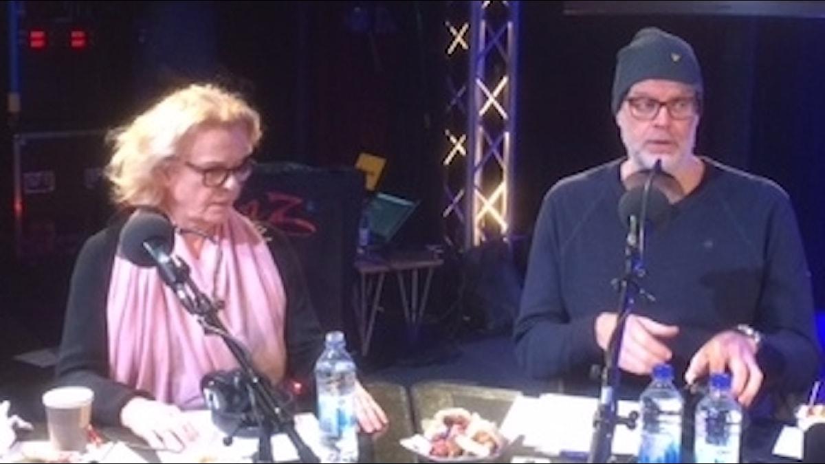 Marie Göranzon och Hans Rosenfeldt.