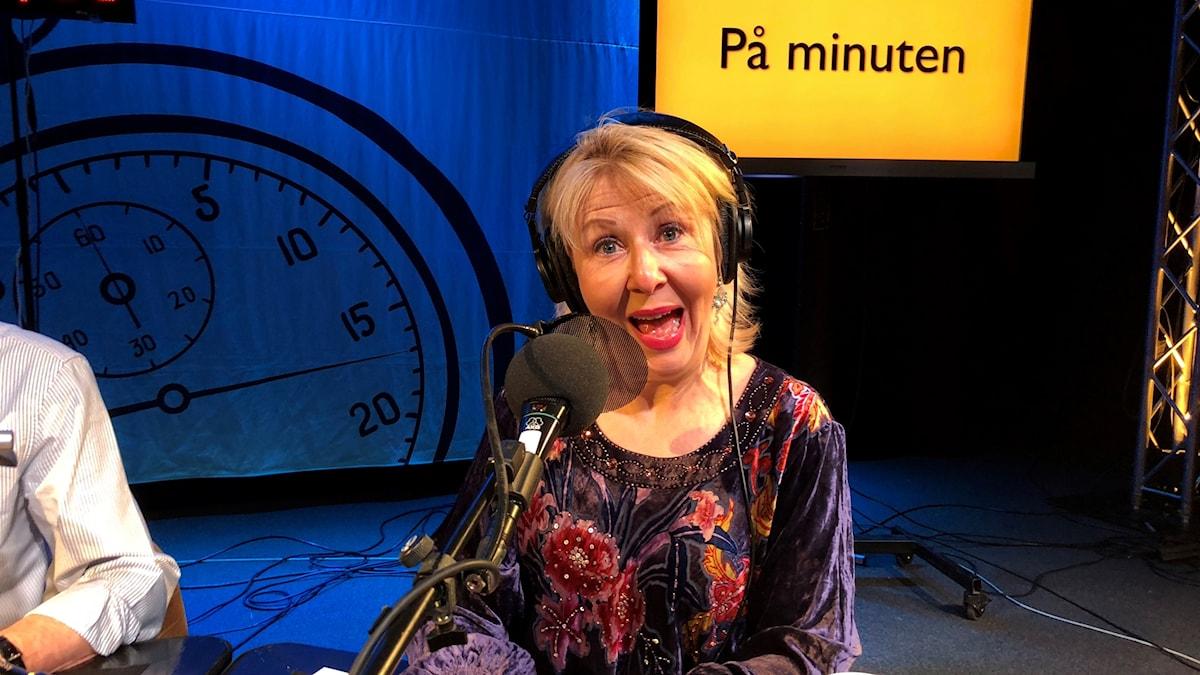 Pia Johansson.  På Minuten-inspelning den 4/12-2017.