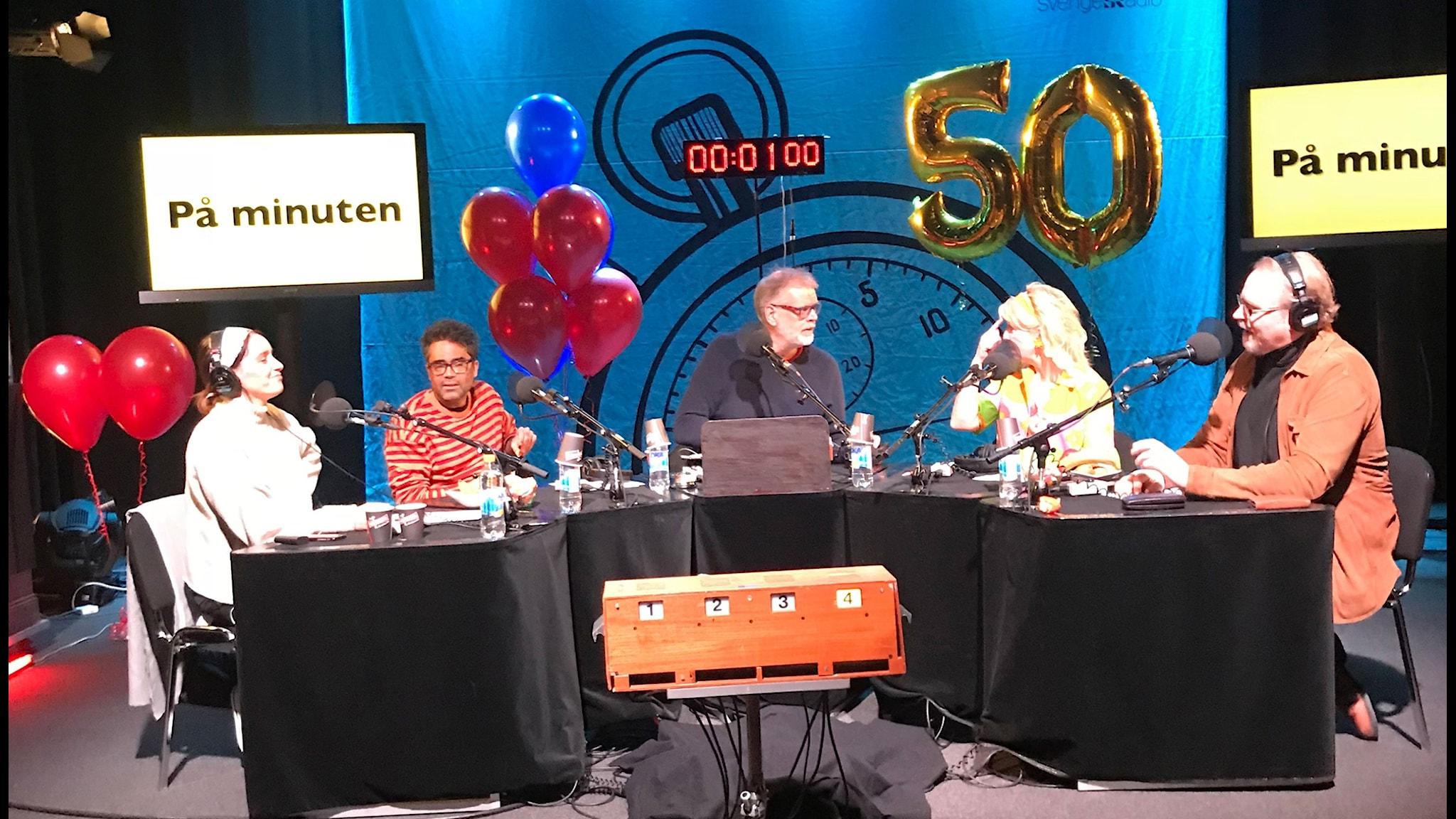 Vi firar att På minuten fyller 50 år!