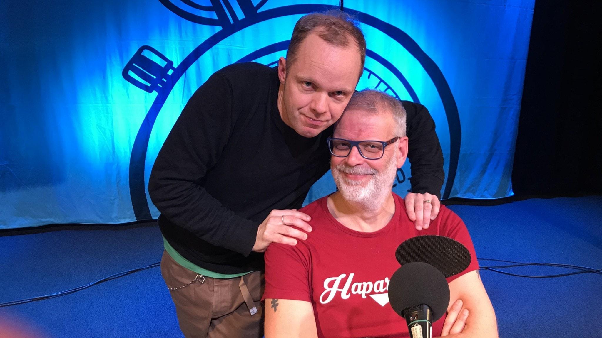 Olof Wretling och Hans Rosenfeldt.