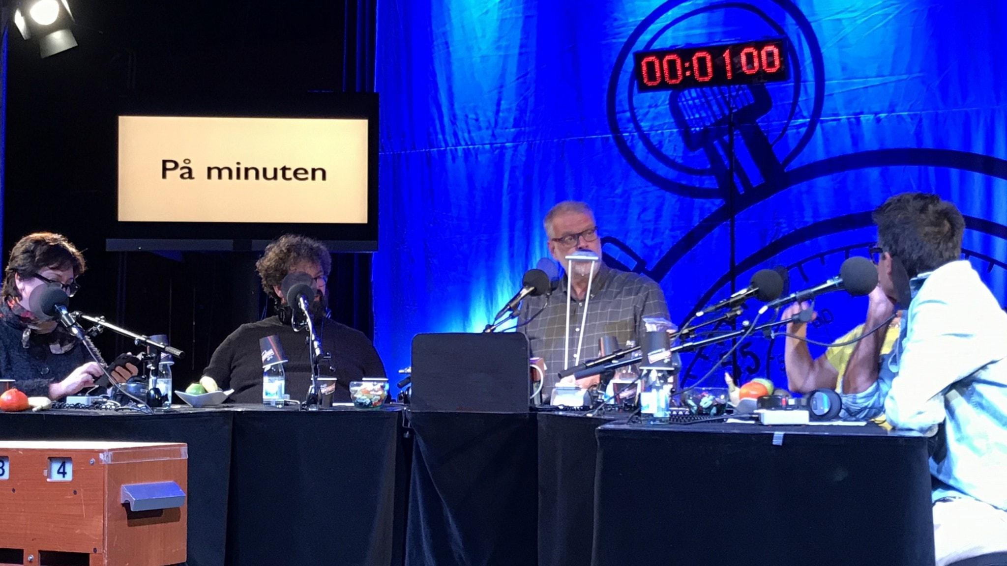 Babben Larsson, Eric Stern, Hans Rosenfeldt, Pia Johansson och David Batra.