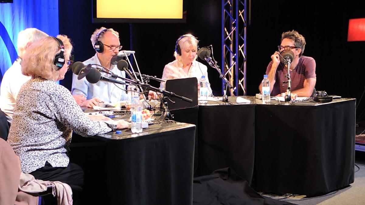 Marie Göranzon, Peder Falk, Ingvar Storm, Pia Johansson och David Batra.