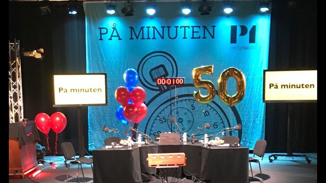 50 år med På minuten