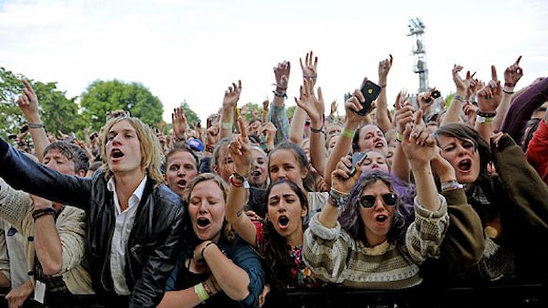 Peace & Love-festivalen i Borlänge kritiserades av Arbetsmiljöverket. Foto: Scanpix.