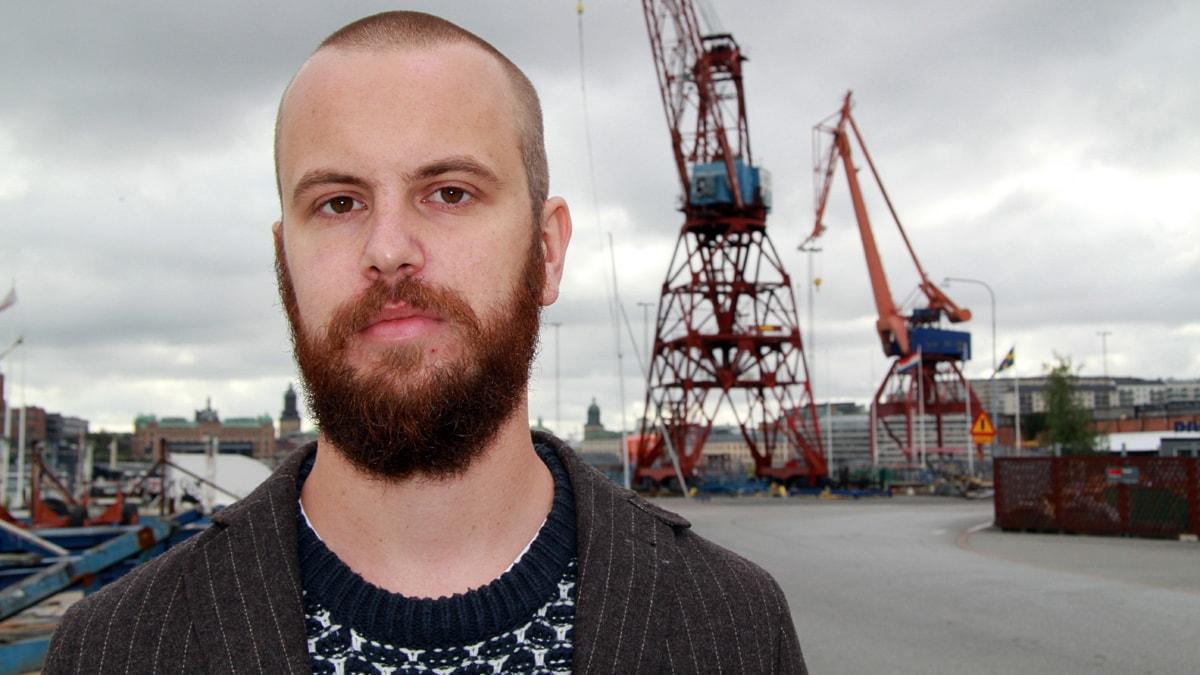 Markus Alfredsson. Foto: Johanna Storm/Sveriges Radio