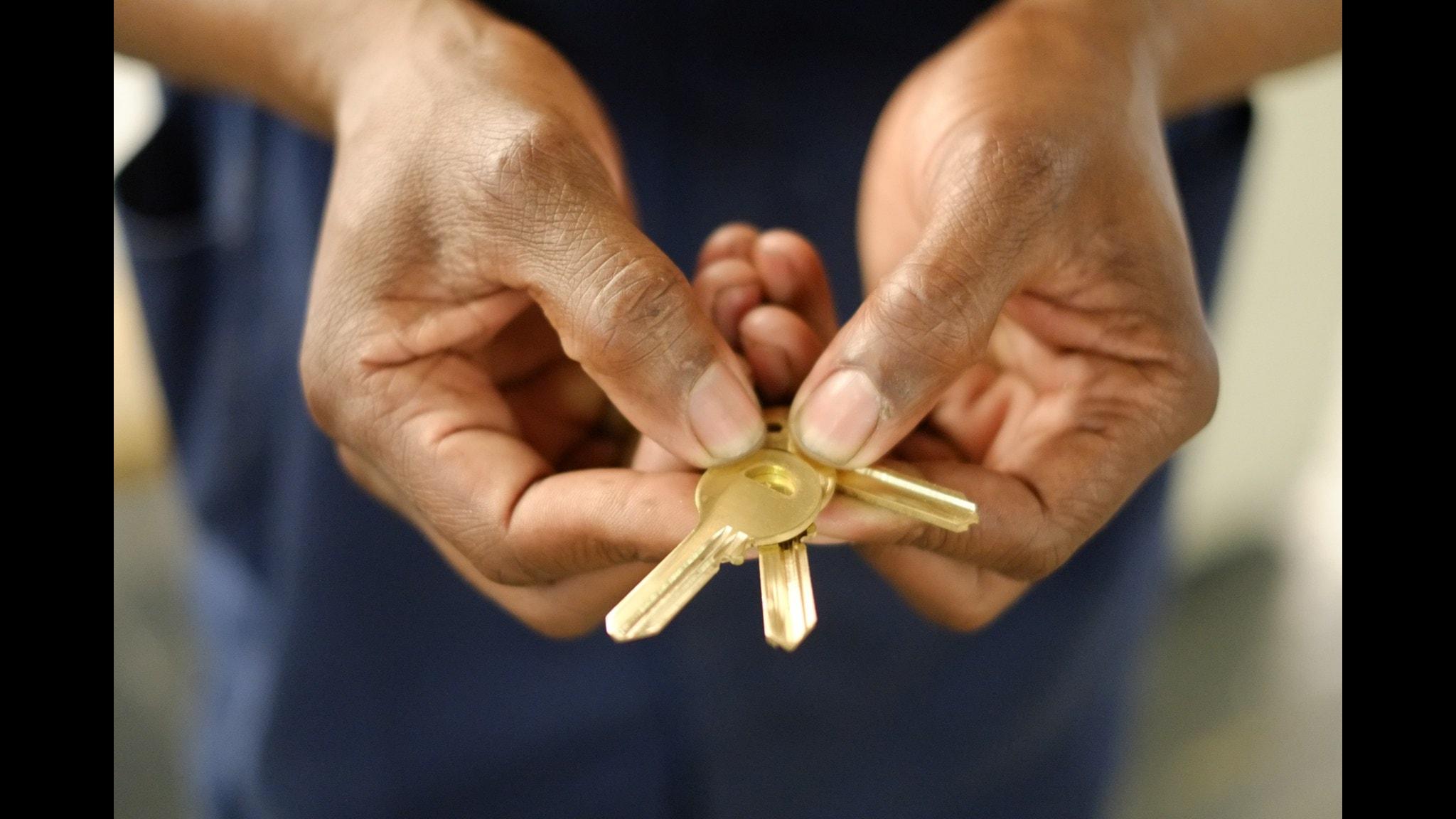 Assa Abloys nyckelfabrik utanför Johannesburg  i Sydafrika.