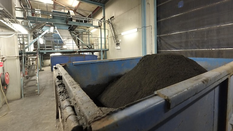 Restprodukt från biobränsle: aska