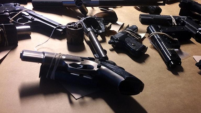Beslagtagna vapen