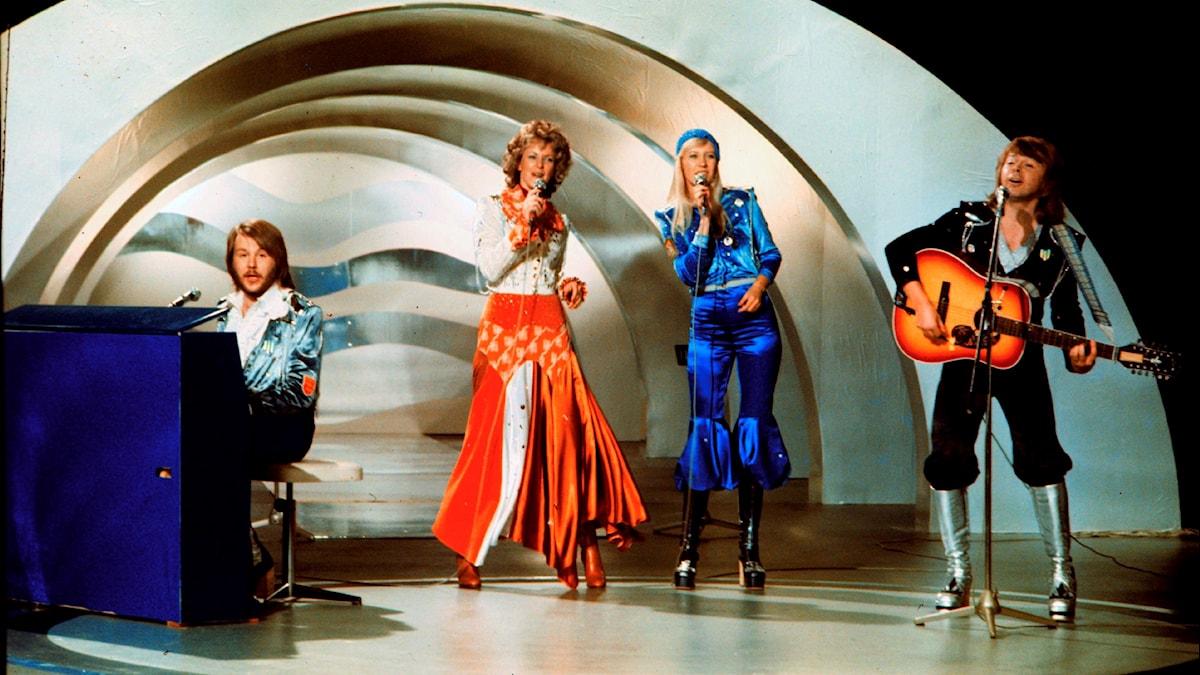 ABBA Euroviisuissa 1974
