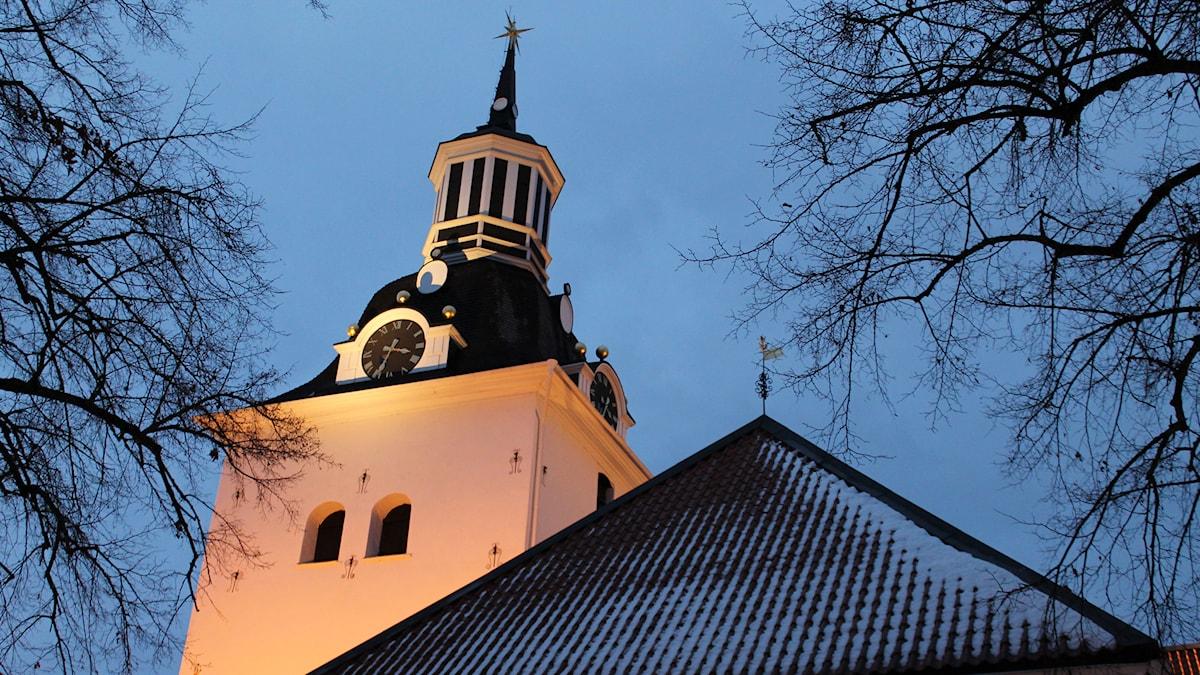 Sankt Gertruds kyrka i Västervik Foto: Johanna Lindblad Ahl/ Sveriges Radio