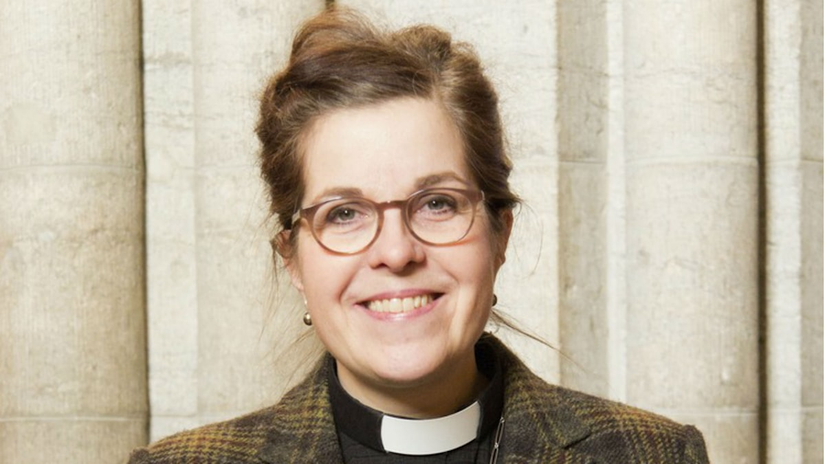 Carin Åblad Lundström. Foto: Johan Nilsson/Svenska kyrkan.