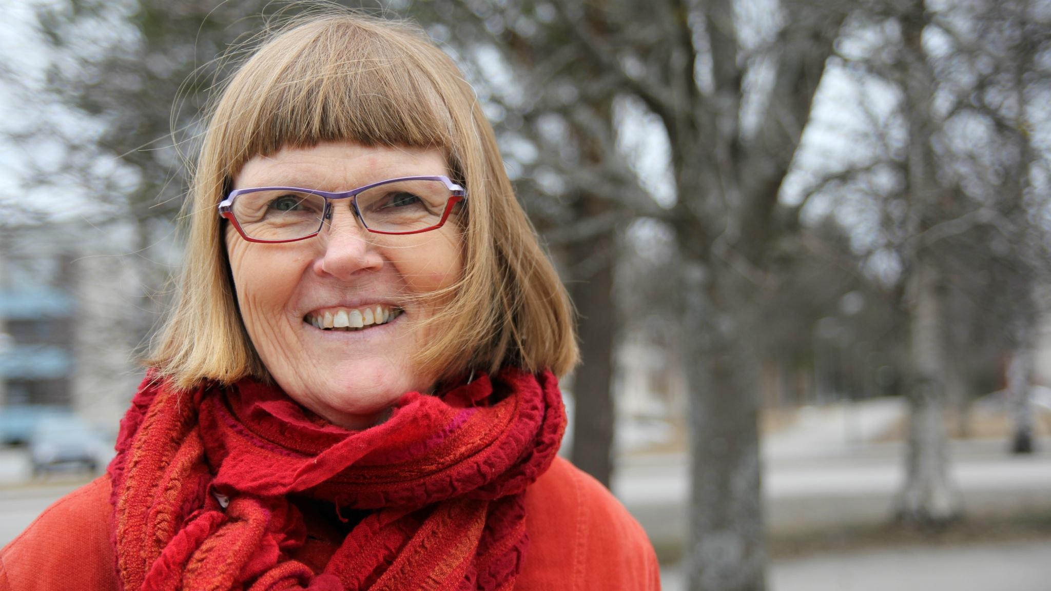 Lisa Tegby, kontraktsprost i Umeå. Foto: Helena Andersson/Moskit Media.